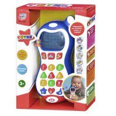 Интерактивный телефон 7288 СОТИК обучающий, муз+ свет