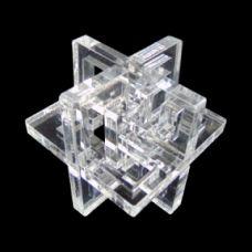 3D-головоломки з акрилу Lattice 3