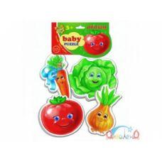 Беби пазлы Овощи  VT1106-03 .