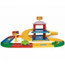 Kid Cars 3D детский гараж 2 этажа с дорогой 3,4 м Арт:     53020