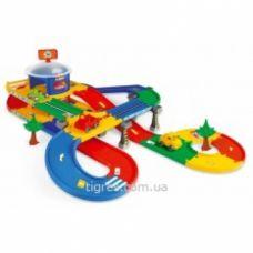 Kid Cars 3D детский гараж с трассой 5,5 м Арт:     53130