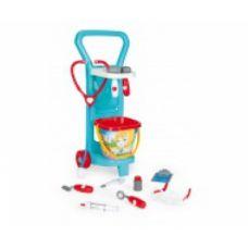 Детский игровой набор с тележкой Маленький доктор Арт:     10775