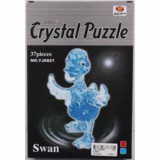 Пазлы 3D- кристалл 29025 Лебедь, 37дет, в кор. 24*16*3, 5см