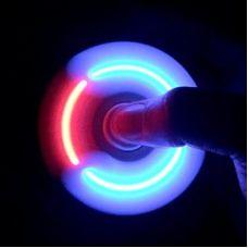 Спиннер Fidget  с LED подсветкой